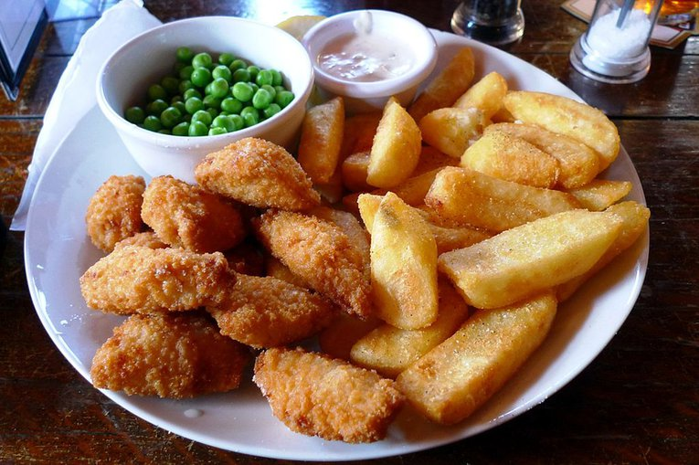 Scampi and Chips Ewan Munro