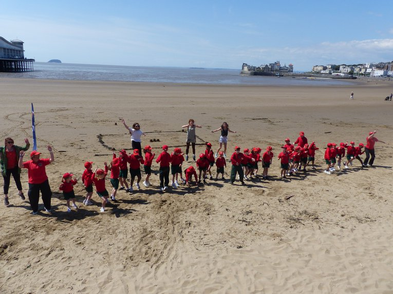 Ashbrooke House School students during the Cool Seas Clean Up programme Alistair Naulls