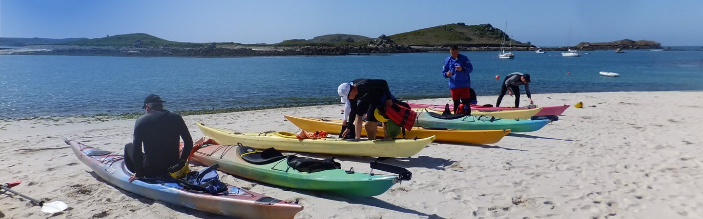 Scilly Isles Kayakers Nick Arding